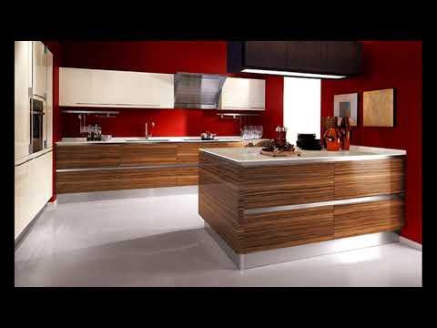 Кухня из шпона. Варианты дизайна шпонированных фасадов