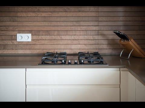 Дизайн кухни с темной столешницей (фото подборка)