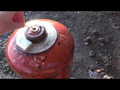Самый Безопасный Способ РЕЗКИ Газового БАЛЛОНА