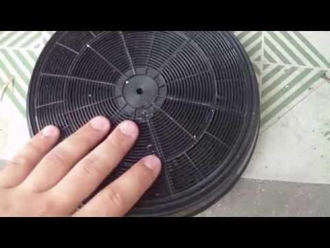 Как восстановить угольный фильтр кухонной вытяжки.