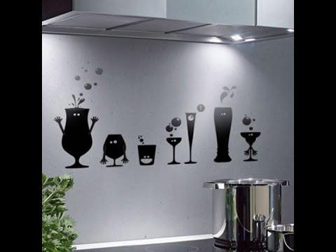 Декор стен своими руками Идеи для кухни