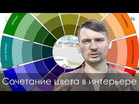 Сочетание цвета в интерьере (таблица цветов в интерьере)