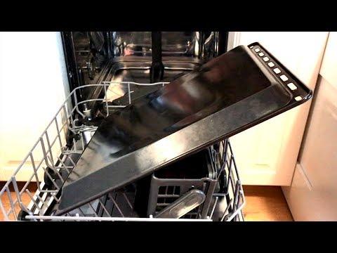 Как мыть противни в посудомоечной машине