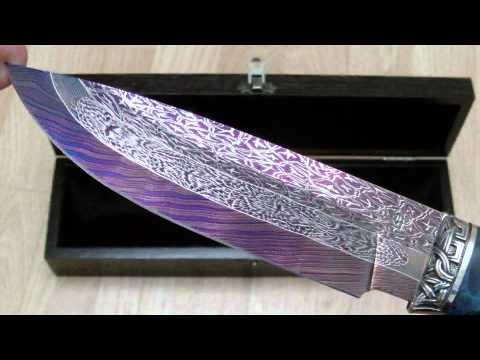 Мужской подарок - эксклюзивный нож
