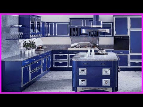 СИНИЙ ДИЗАЙН КУХНИ. Синяя кухня. Лучшие Идеи. Кухня в СИНИХ ЦВЕТАХ