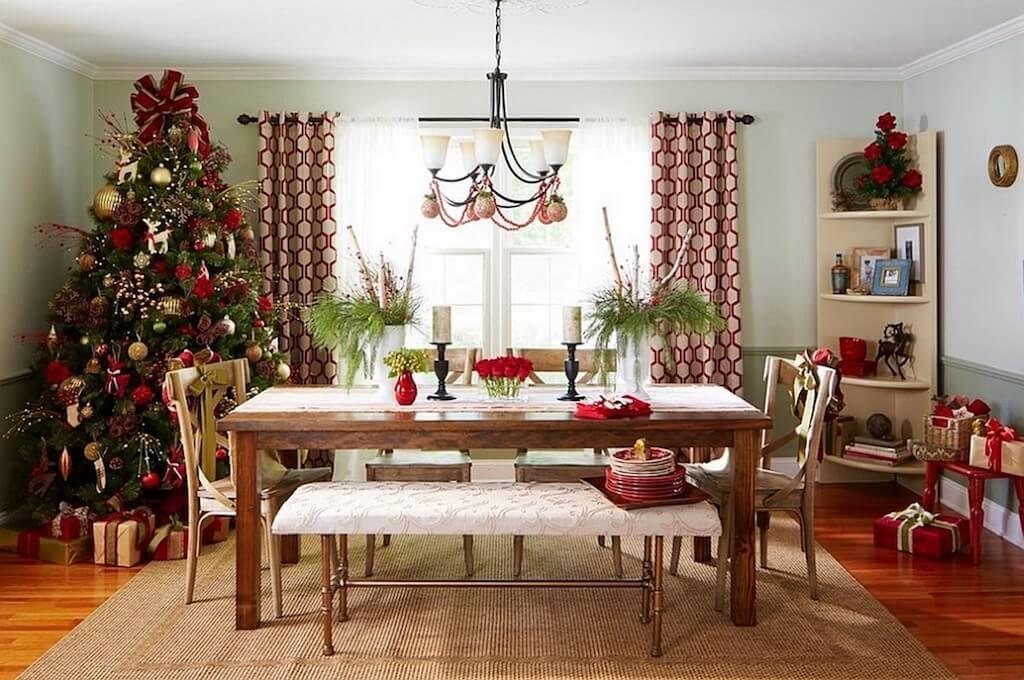 Новогодняя елка на кухне
