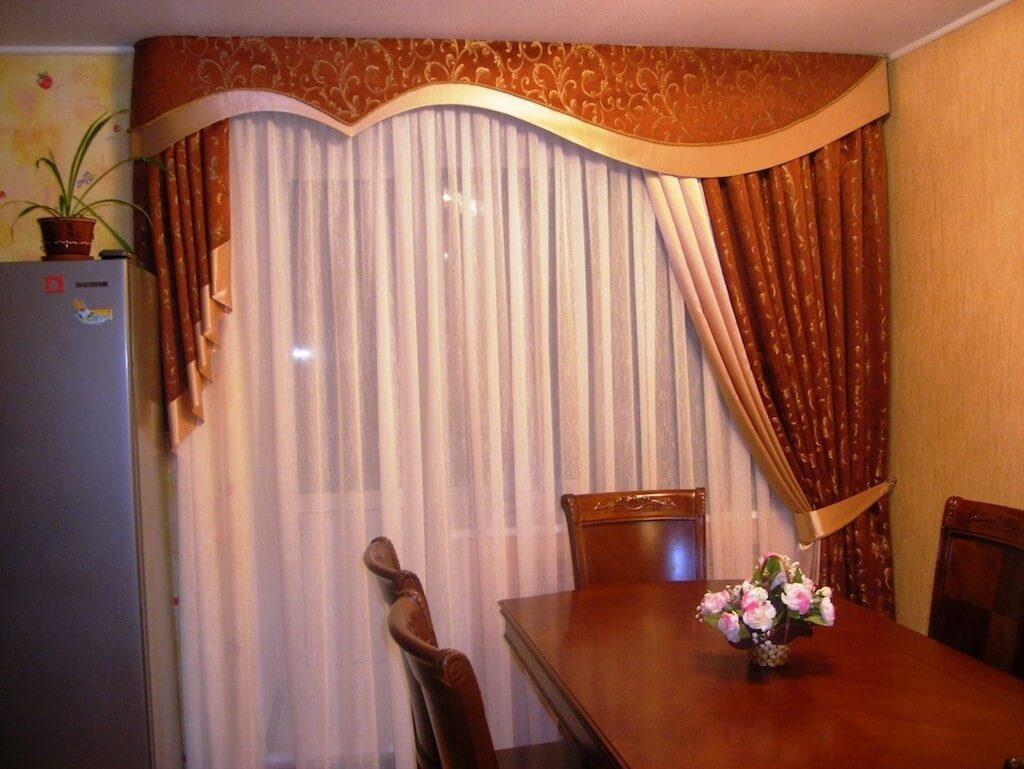 Изысканные шторы на кухню