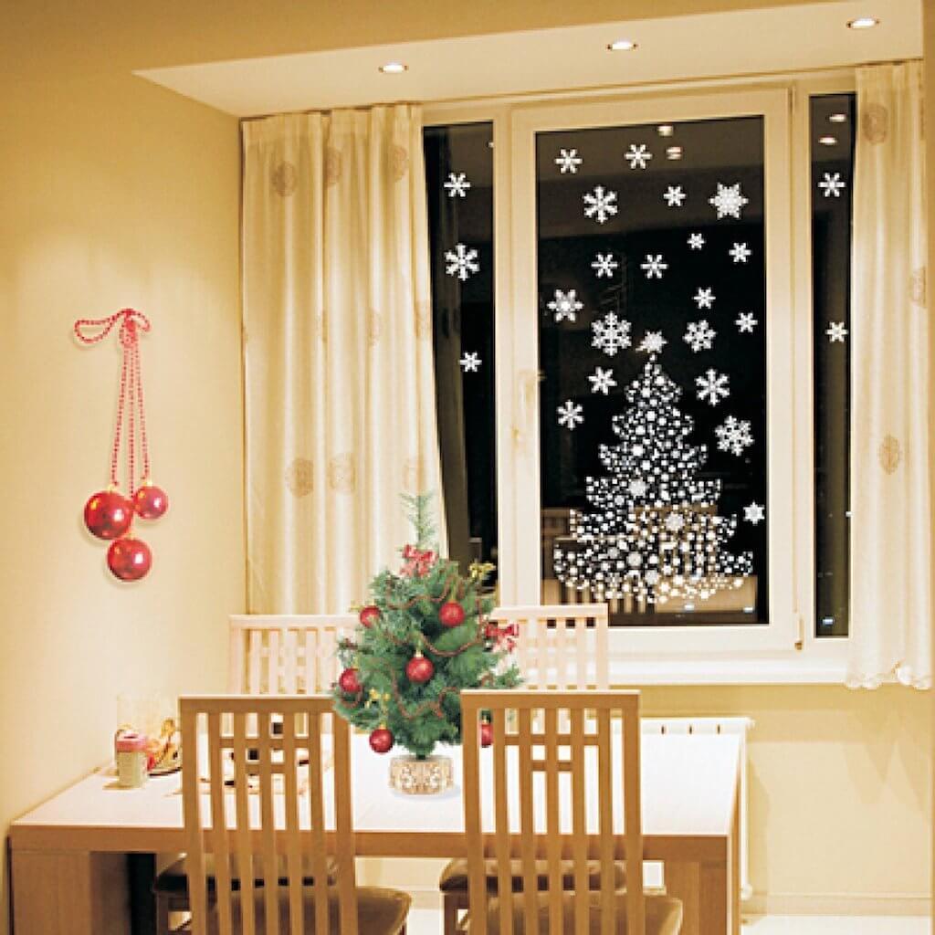 Самодельные снежинки на окно