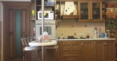Кухня нашей читательницы Татьяны после перепланировки