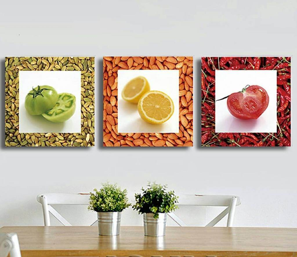 ресторана картинки на стену на кухню с едой иногда берет