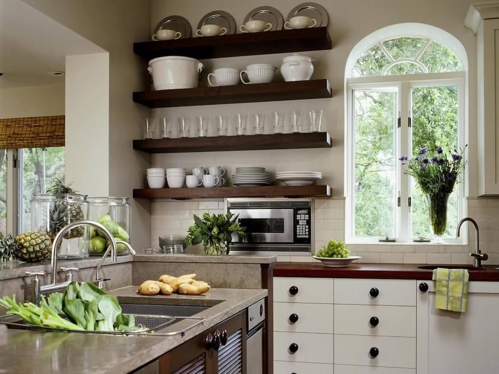 подробное полки на кухне фотогалерея время преображения