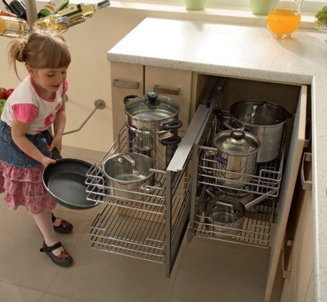 Волшебный уголок для кухни, назначение, разновидности, плюсы и минусы